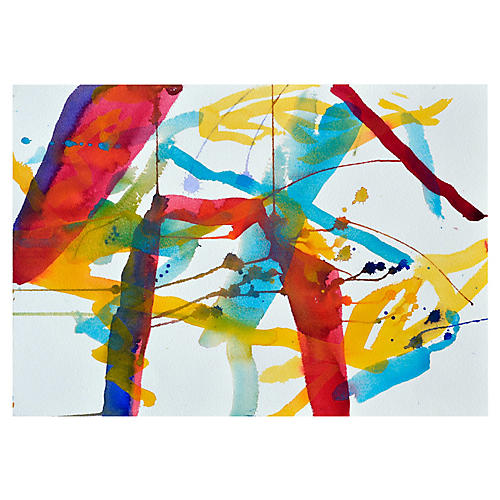 Abstract Planes by Les Anderson