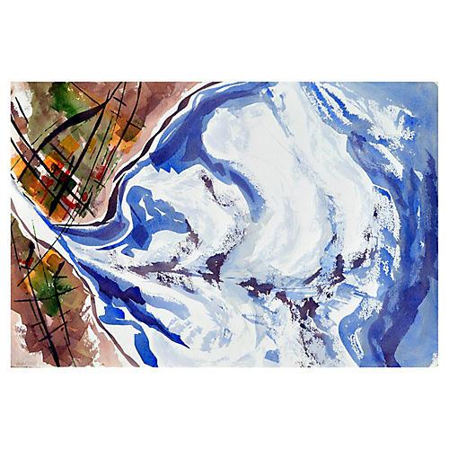 Abstract Waves by Doris Warner