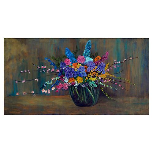 Floral Still Life by Barbara Wilson
