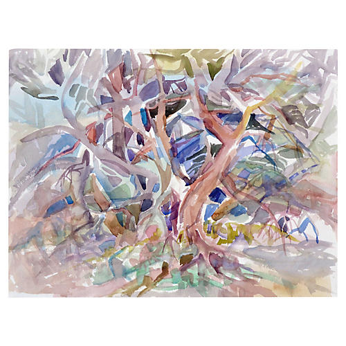 Abstract Forest by Virginia Hughins