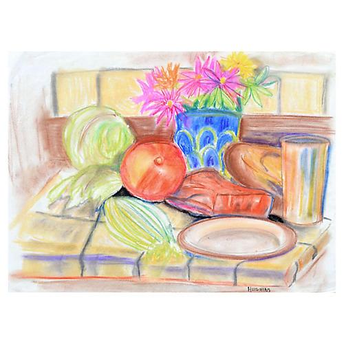 Kitchen Still Life by Virginia Hughins