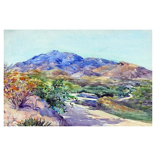 Mountain Road by Eva Ellen Dean