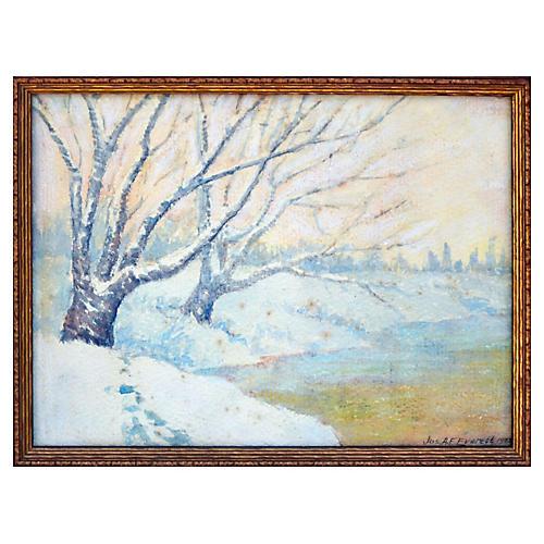 Winter Landscape by Joseph Everett
