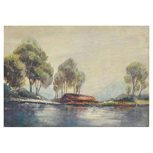 Mid Century California Lanscape