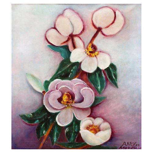 Blooming Magnolias by McKee