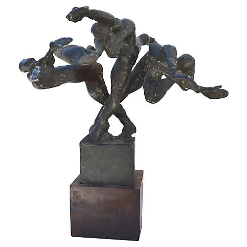 Three Graces Bronze Sculpture