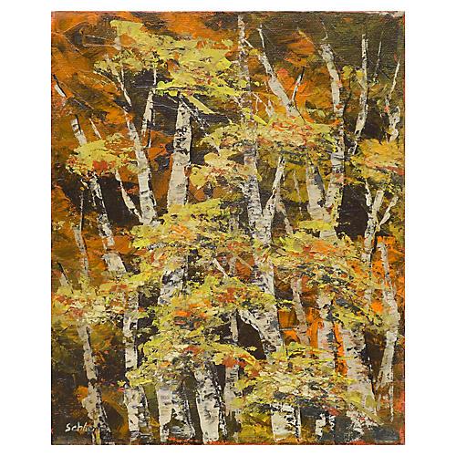 Modern Birch Trees