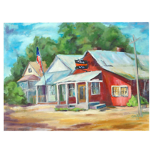 Country Town by Carol Kelly