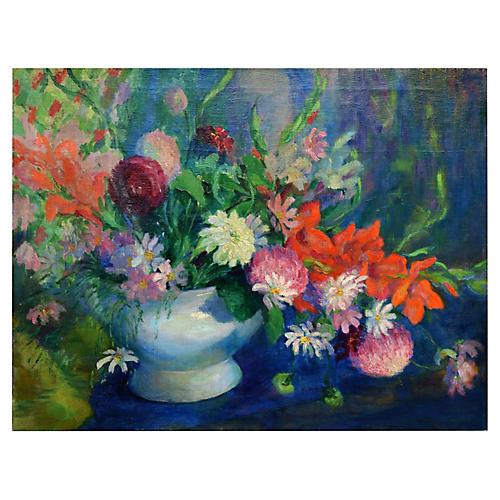 Spring Flowers by Elizabeth F. Dallam