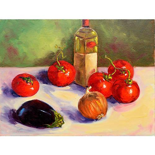 Italian Vegetable Still Life