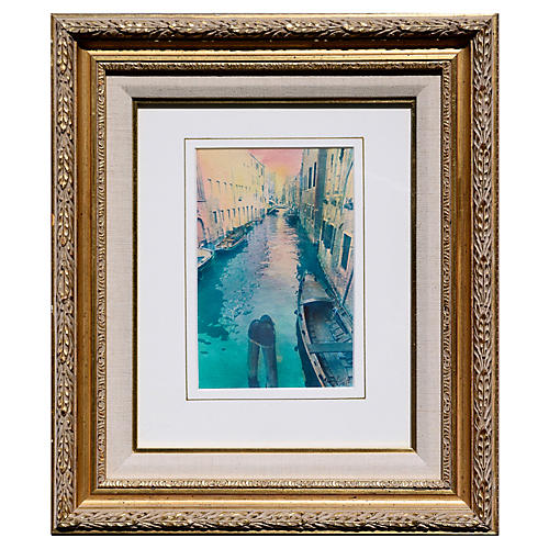Venice Canal by Cheryl Trotter