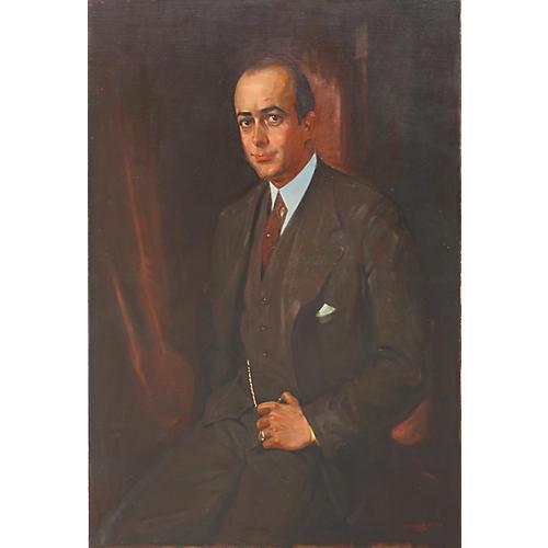 Portrait of Scottish Gentleman