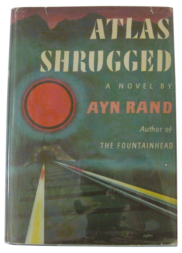 Atlas Shrugged, 1st Ed - 19th Printing