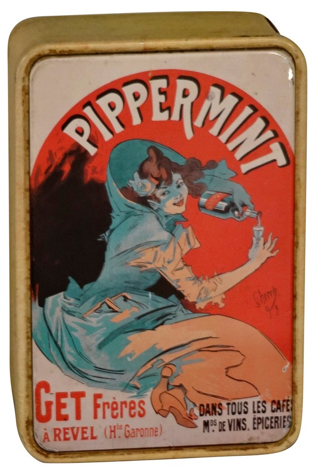 French Peppermint Tin