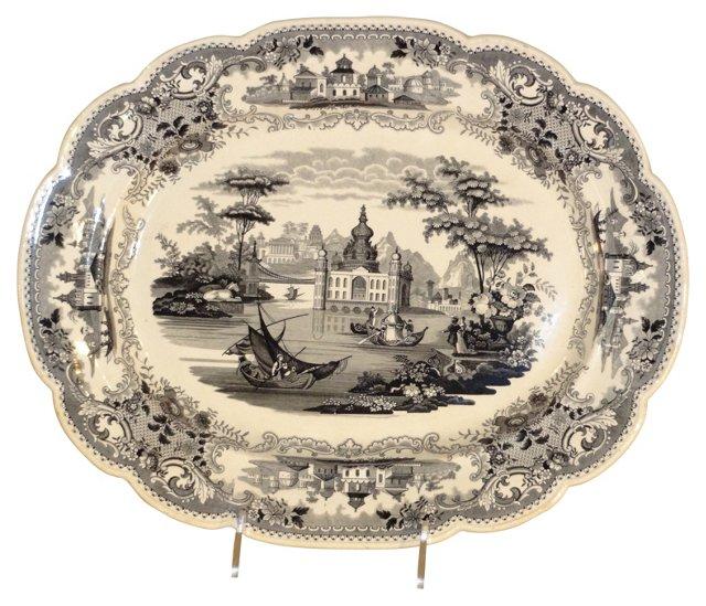 Wedgwood Platter, C. 1850