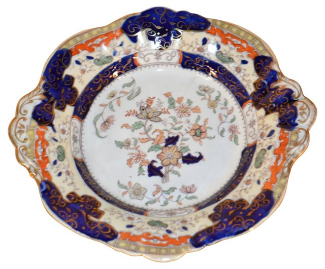 19th-C. Mason's Ironstone    Plate