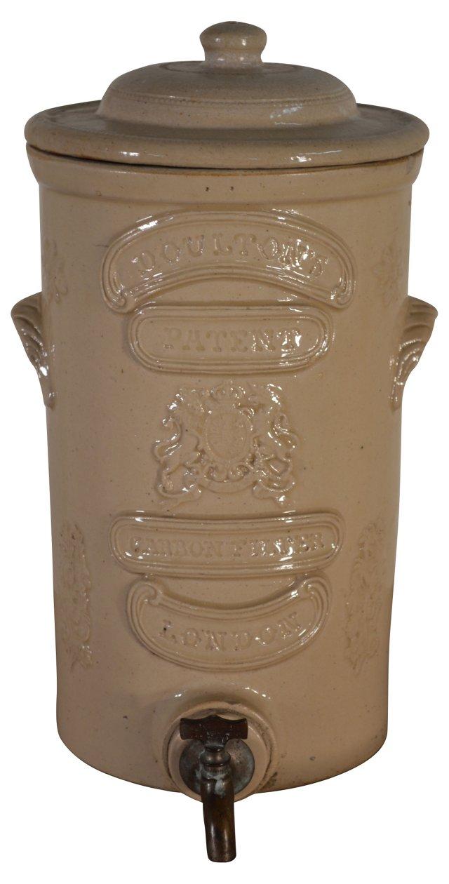 Antique Royal Doulton Stoneware Filter