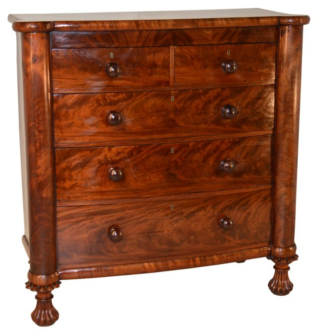 George IV Mahogany Chest