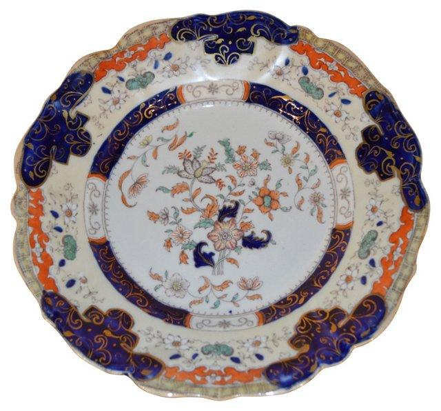 19th-C. English Mason's Plates