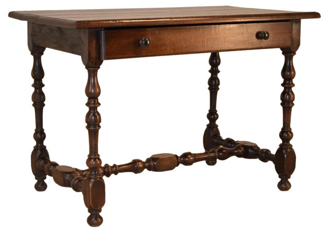 English Library Table, C.  1820