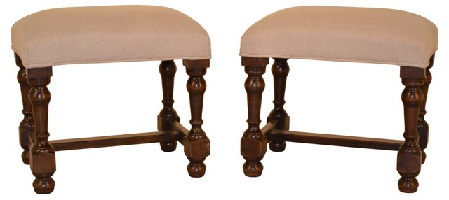 French Benches,  C. 1900, Pair