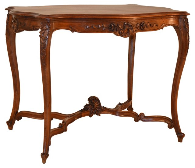French Parlor  Table, C. 1830