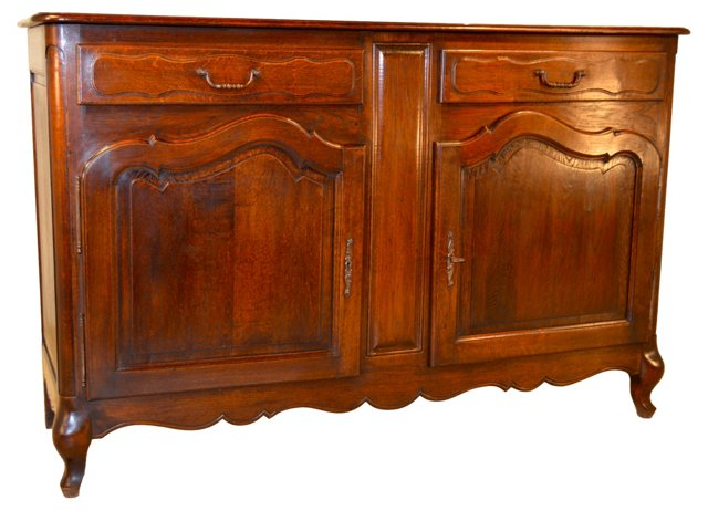 Late 19th-C. French Buffet