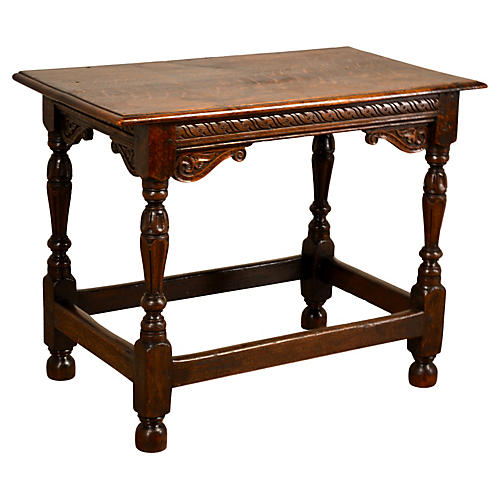19th-C. English Side Table