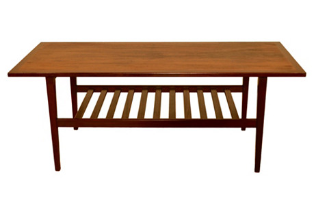 Classic G-Plan Coffee Table, C. 1960