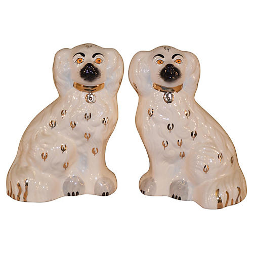 C. 1950 English Beswick Dogs, Pair