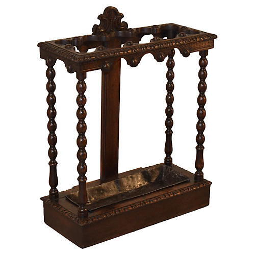 19th-C. English Umbrella Stand