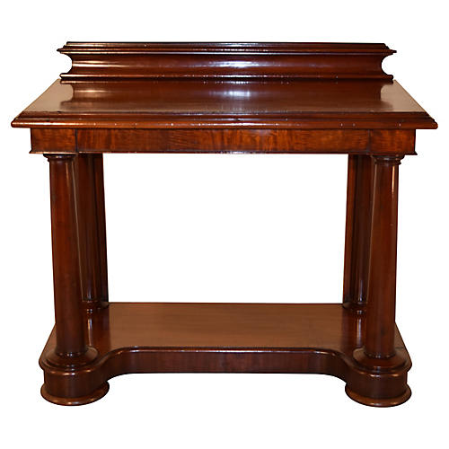 19th-C. Mahogany Console