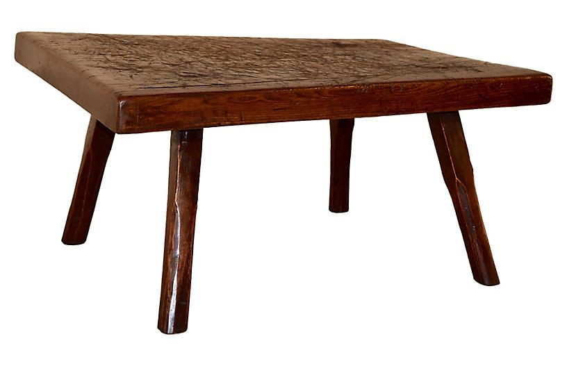 19th-C. English Coffee Table