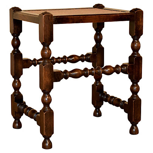 19th Century English Stool