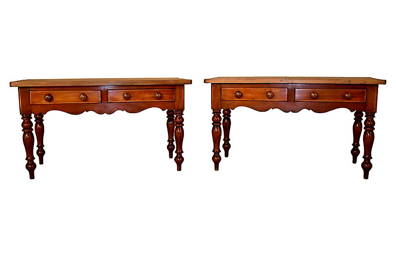 Pair of 19th-c. Sideboards