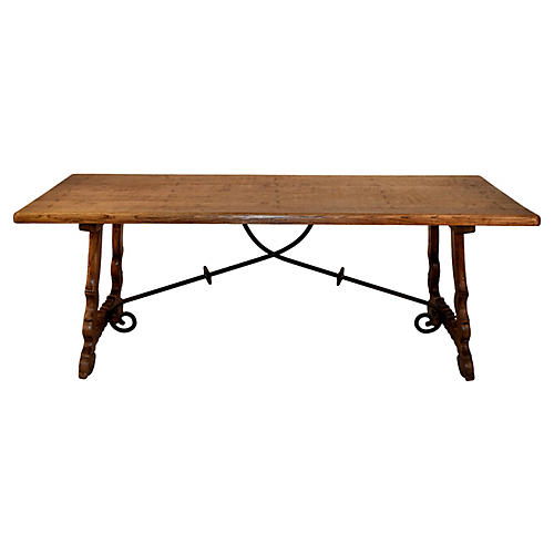 Spanish Dining Table, C. 1910