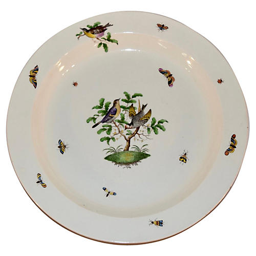 19th-C. Wedgwood Creamware Charger