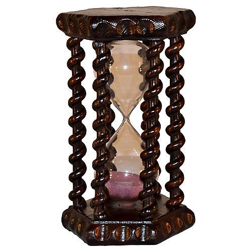 19th-C. English Hourglass