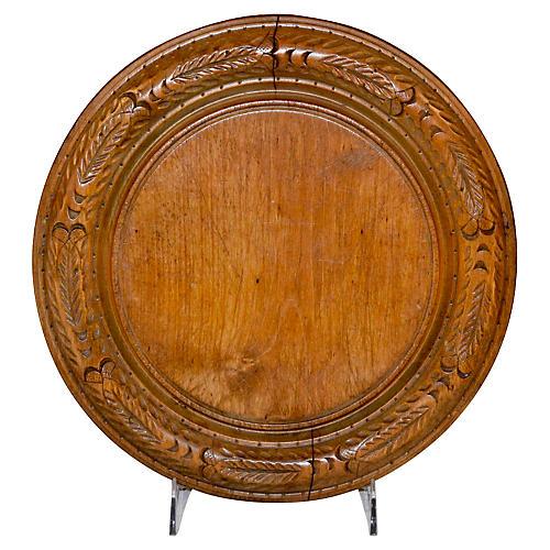 19th-C. English Bread Board