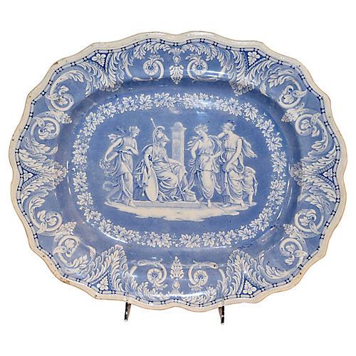 """Etruscan"" Platter, c. 1830"