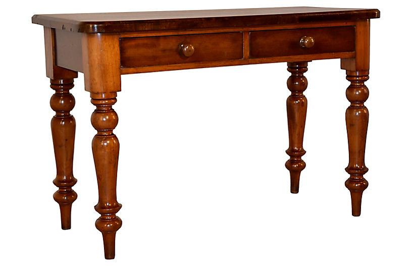19th-C. Mahogany Side Table