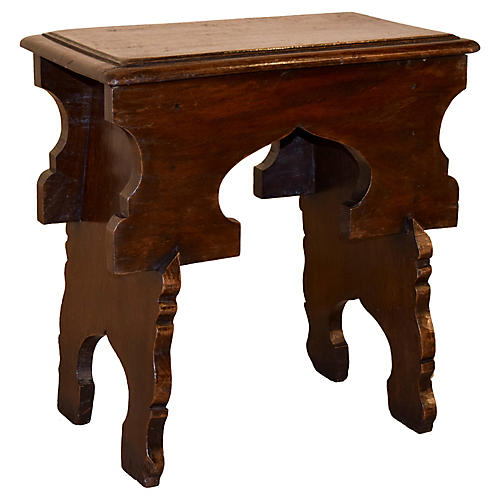 18th-C. Welsh Country Stool