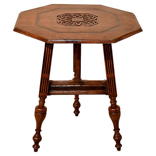 19th-C. Dutch Carriage Table