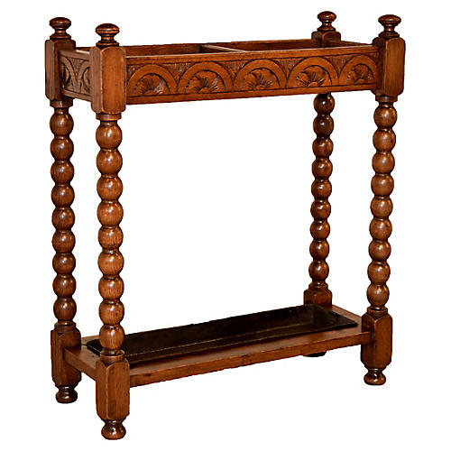 Late-19th-C. Umbrella Stand