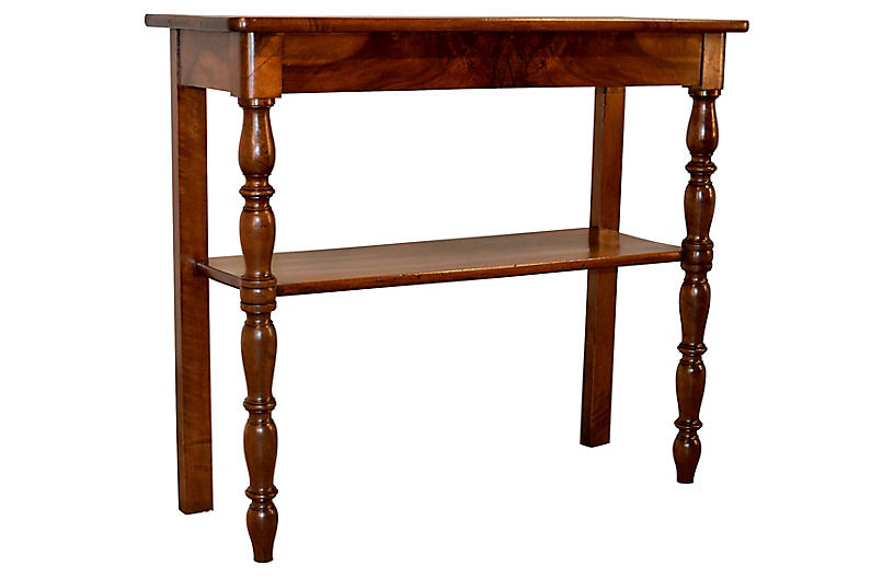 19th-C. Louis Philippe Console