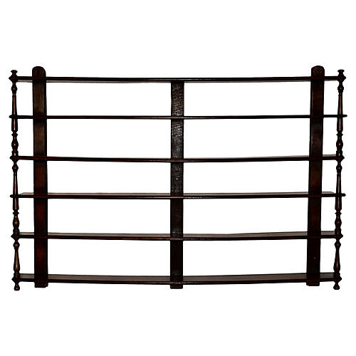 Early-19th-C. Wall Shelf