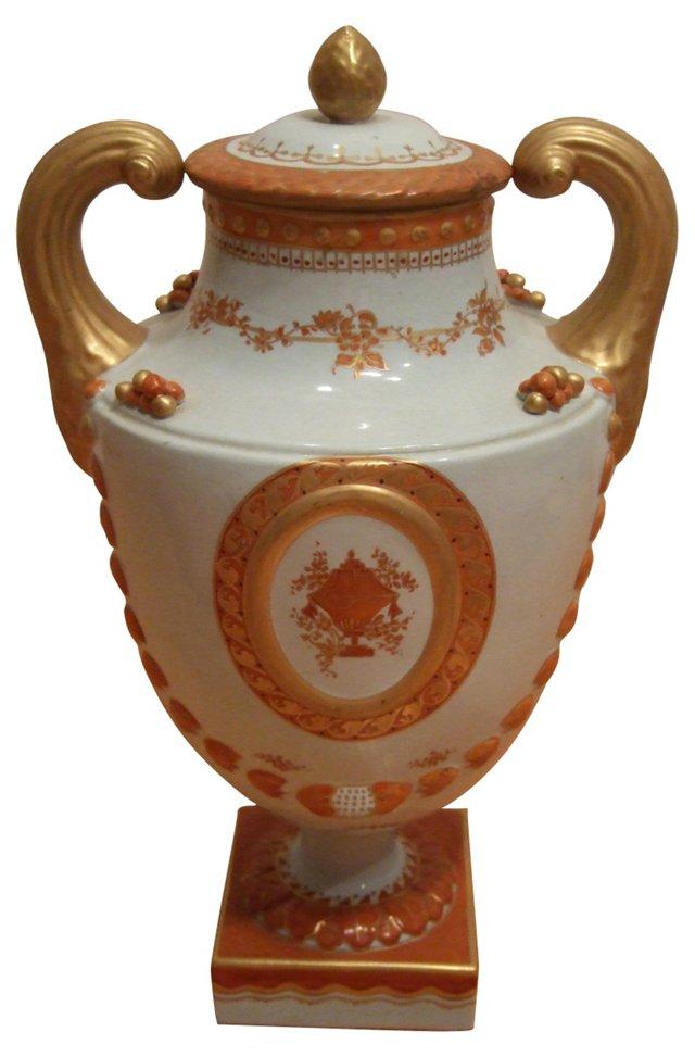1950s Italian Mottahedeh Urn