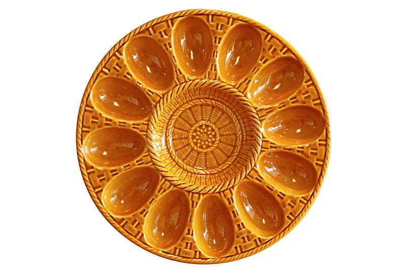 Ceramic Deviled Egg Serving Dish