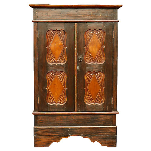 Simply Carved Craftsman Style Wardrobe