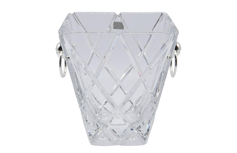Square Crystal Ice Bucket by Mikasa